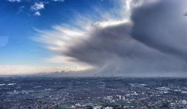 London Schneefront