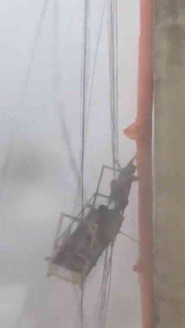 Fensterputzer Sturm