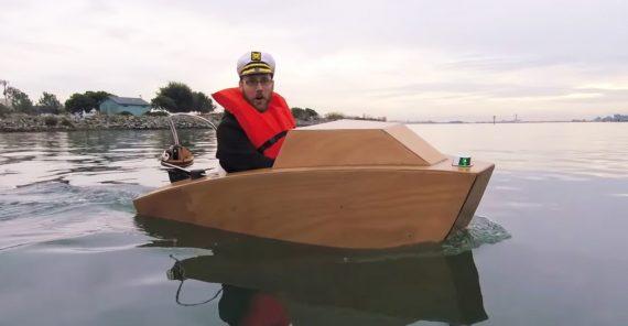 Mini Motorboot Bausatz