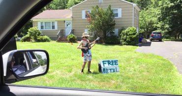 Nachbar spielt Metal