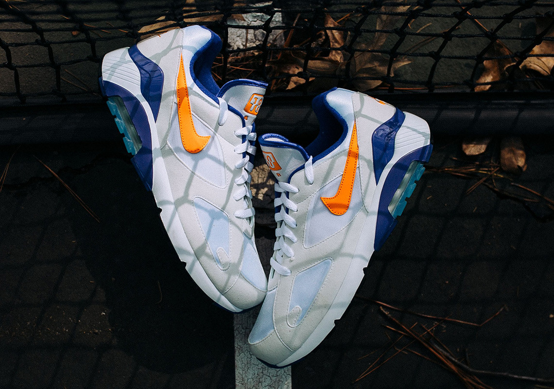 Nike Air Max 180 Bright Ceramic-Dark Concord