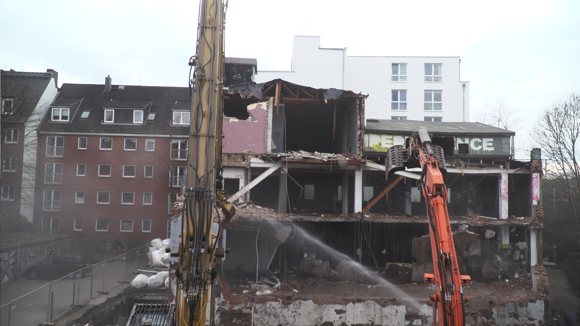 OZM Hamburg Abriss