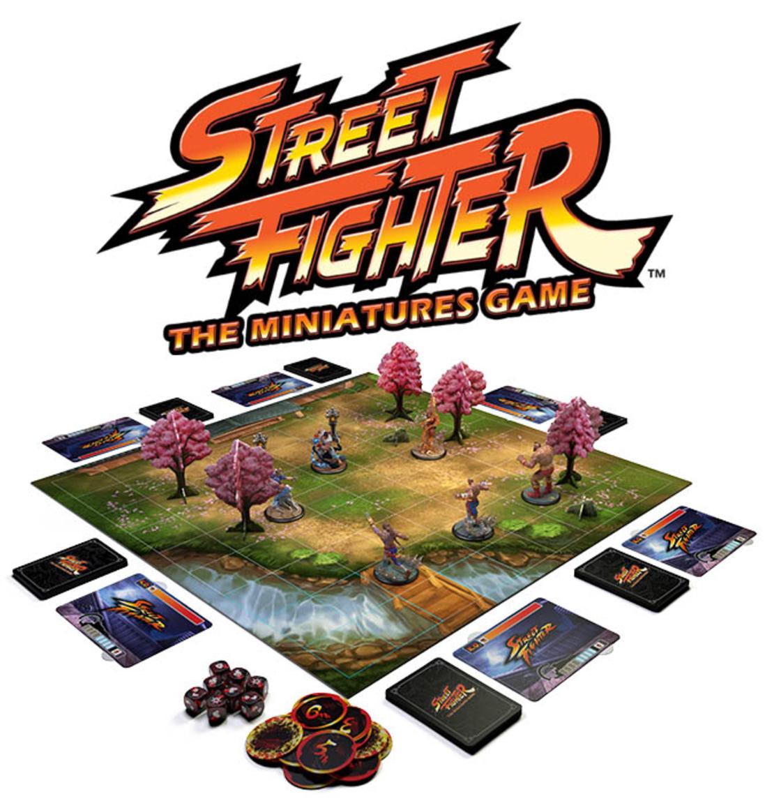 Street Fighter Brettspiel
