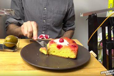 Cake Server Rube Goldberg Machine