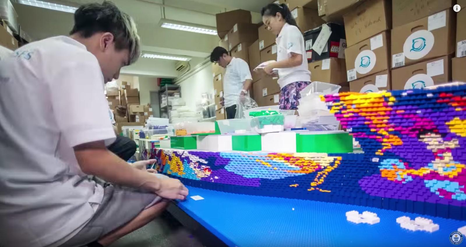 Lego Schiff Weltrekord