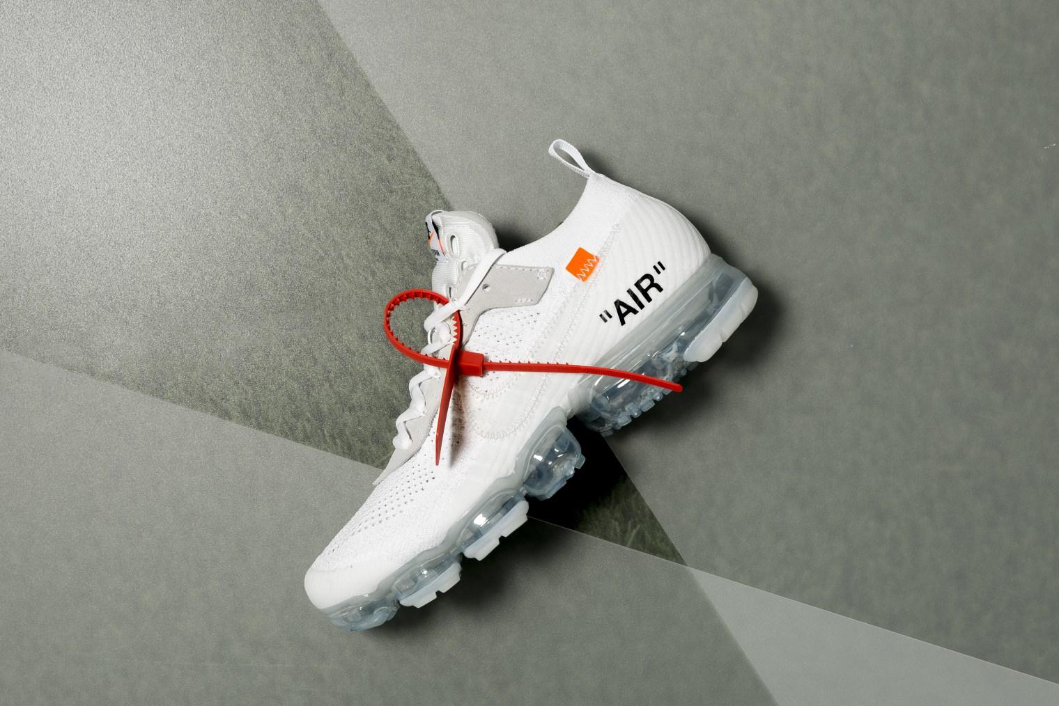 Virgil Abloh x Nike Air VaporMax White Storelist