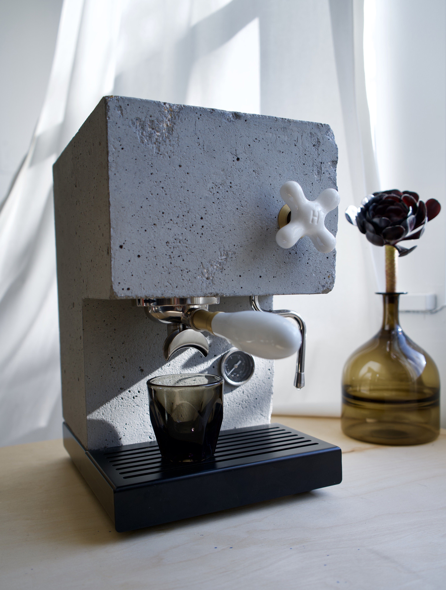 AnZa Beton Kaffeemaschine