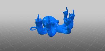 Fucktopus 3D Druckdaten