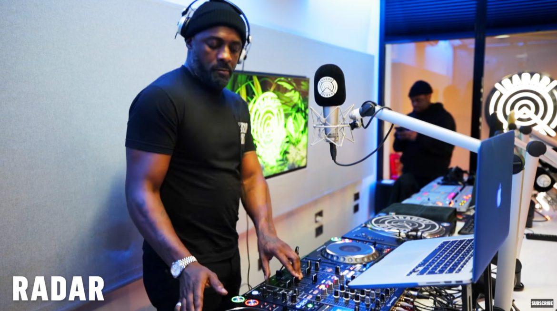Idris Elba DJing