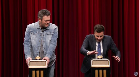 blake shelton vs jimmy fallon