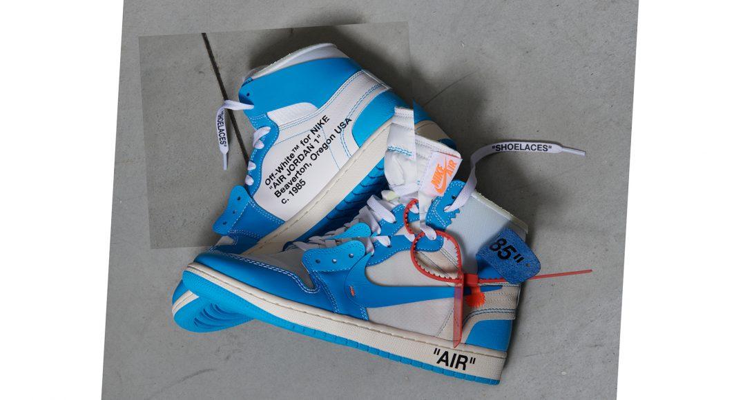 Off-White x Air Jordan 1 Powder Blue