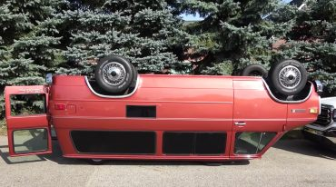 Van Upside Down
