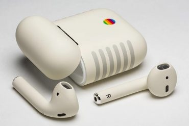 Apple Air Pods im Retro Look