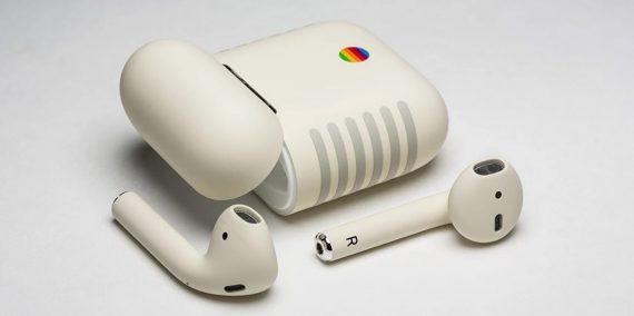 Apple Air Pods im Retro Look