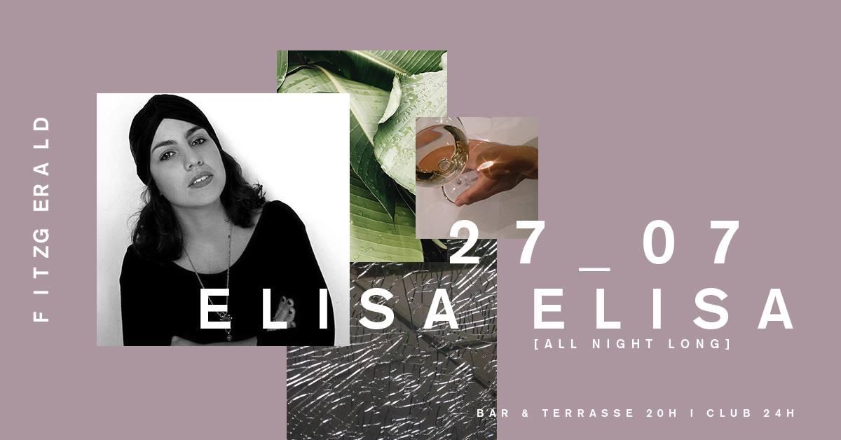 Hamburg Eventkalender - Elisa Elisa Fitzgerald