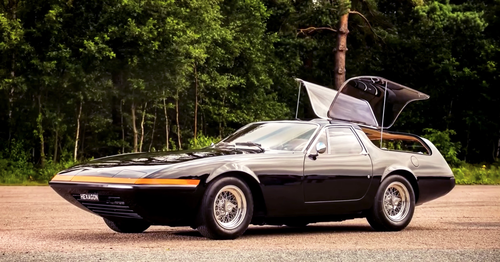 Ferrari 365 GTB4 Daytona Shooting Brake