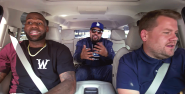 LeBron James, James Corden & ICE Cube