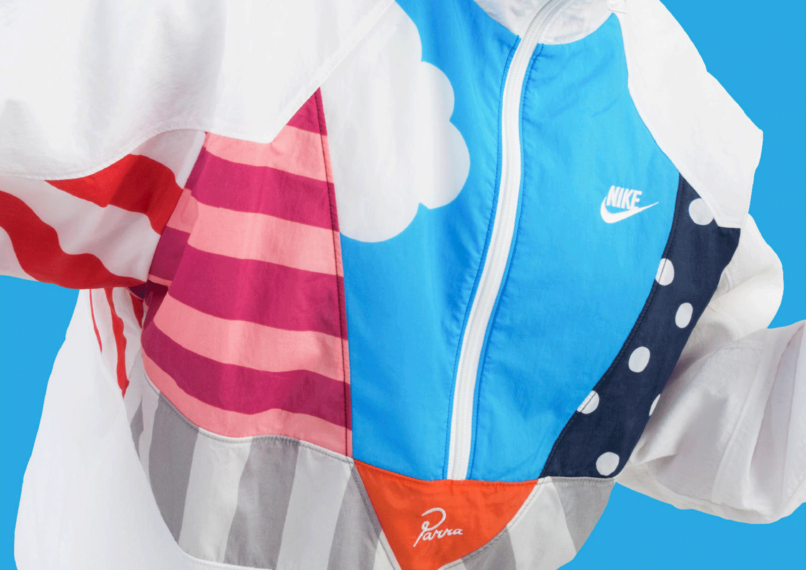 Nike Air Max 1 x Parra Windbreaker