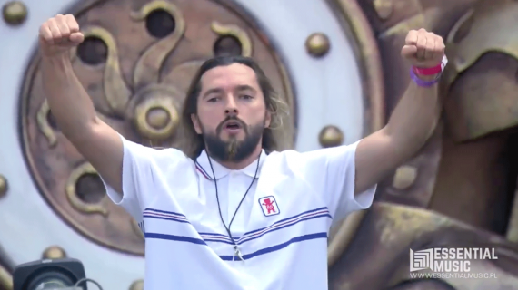 Salvatore Ganacci at Tomorrowland