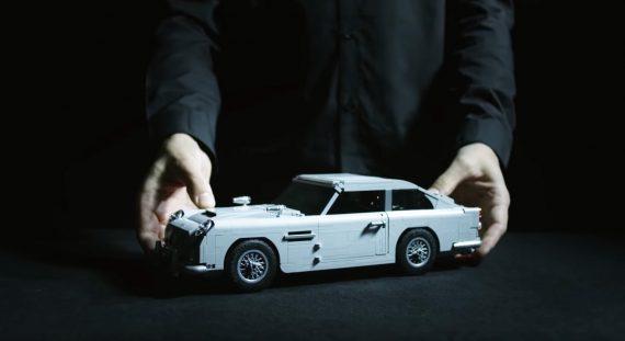 aston martin db5 lego 007