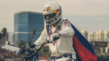 Travis Pastrana Evel Knievel Hommage Las Vegas