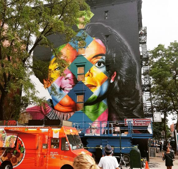 Eduard Kobra Michael Jackson Mural New York