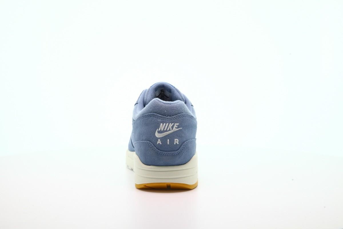 Nike Air Max 1 Premium – Work Blue / Mountain Blue / Yellow Ochre