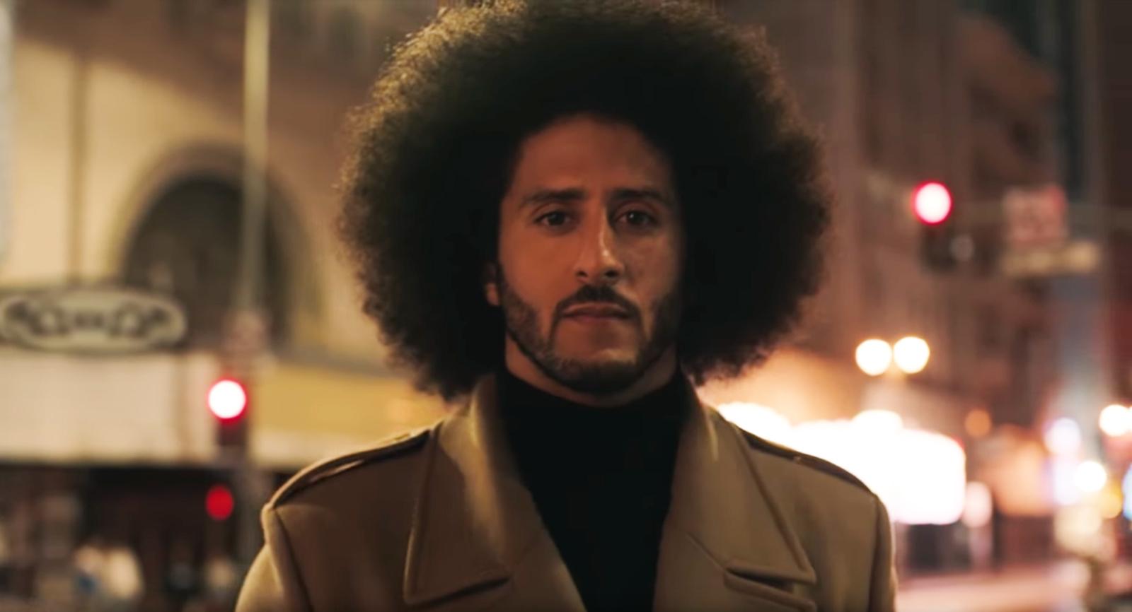 Colin Kaepernick Nike Werbung