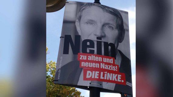 Die Linke Nein zu Nazis