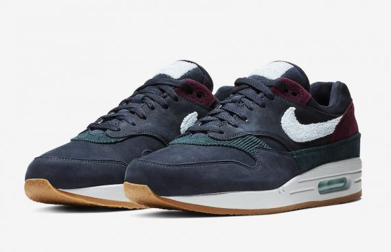 Nike Air Max 1 Dark Obsidian Cobalt Tint Ocean Bliss CD7861-400