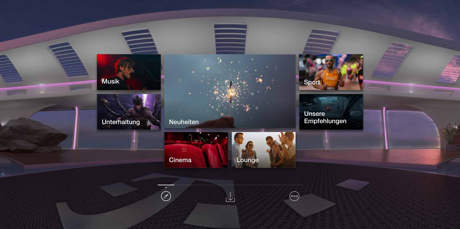 Telekom Magenta VR App