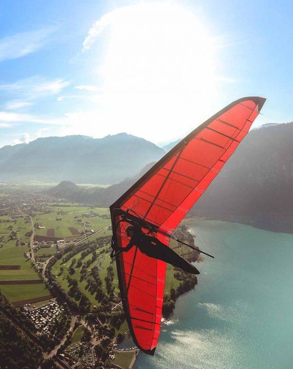 Wolfgang Siess Hang Glider