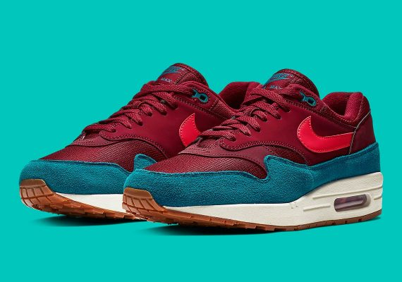 nike air max 1 teal ah8145-601