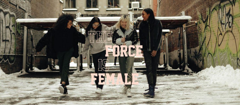 nike force is female