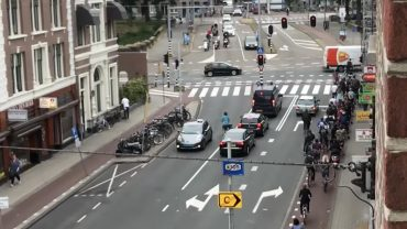 rush hour in amsterdam