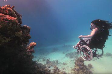 Sue Austin Unterwasser Rollstuhl