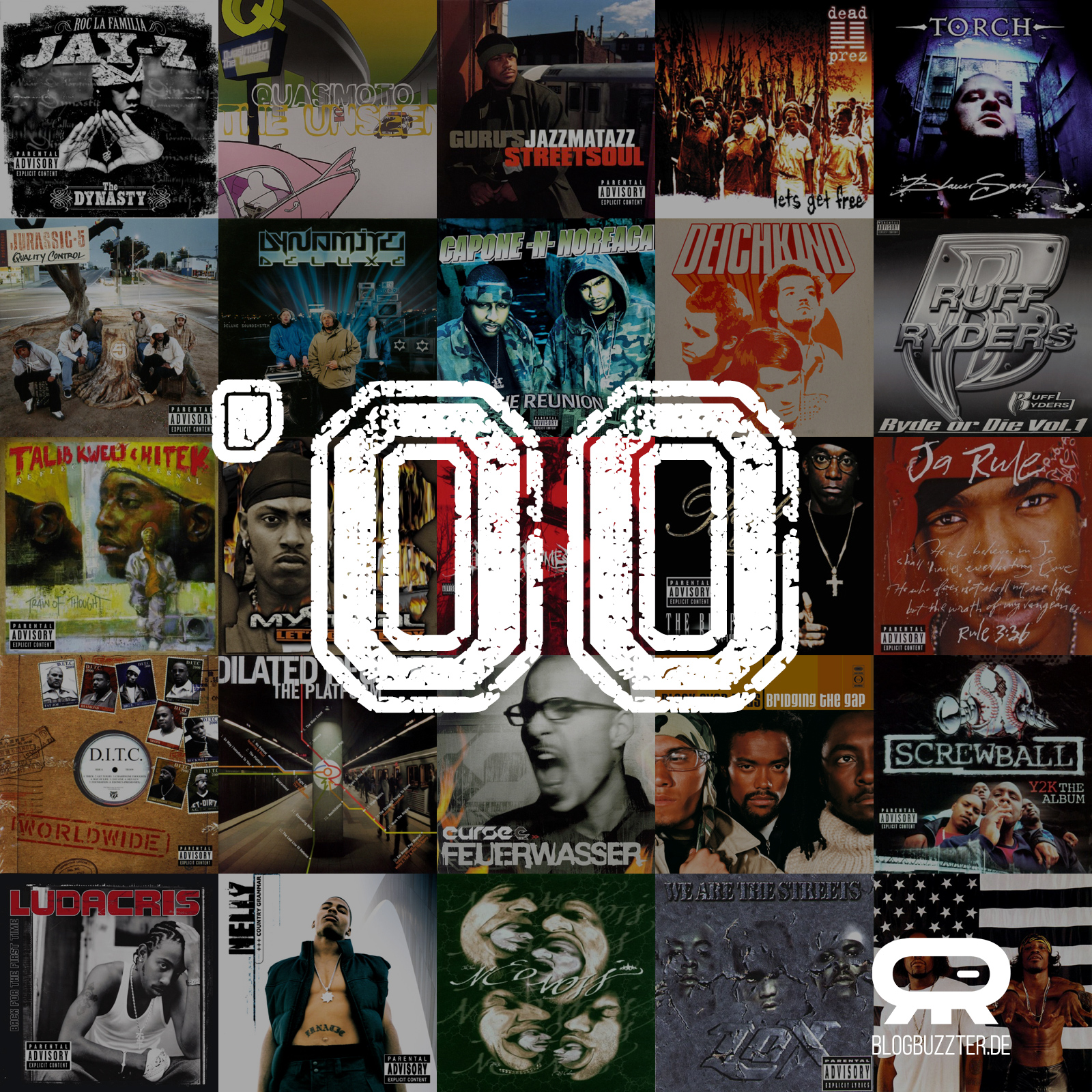 Best Of HipHop Alben 2000