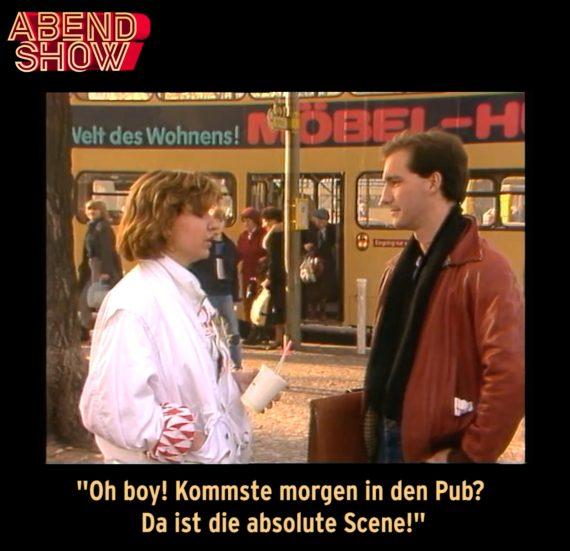 Abendschau Denglisch 1983