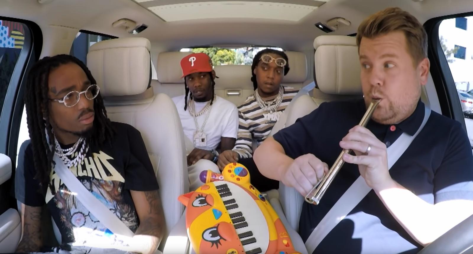 carpool karaoke migos