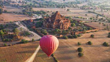 heissluftballons myanmar 4k