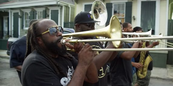 hot 8 brass band – love will tear us apart cover