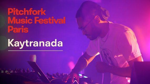 kaytranada live dj set pitchfork festival