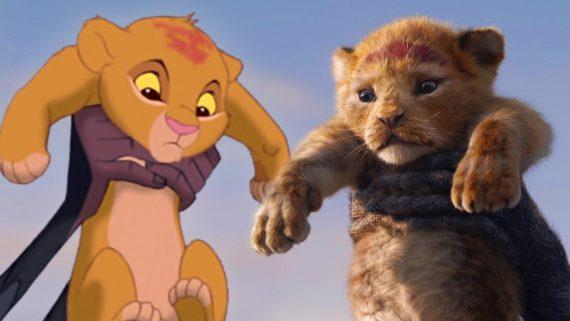 lion king vergleich 1994 vs 2019