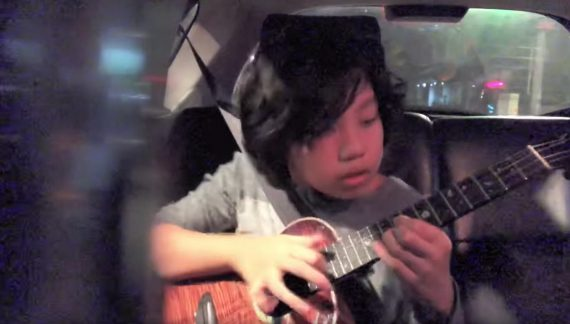 smooth criminal ukulele cover Feng E