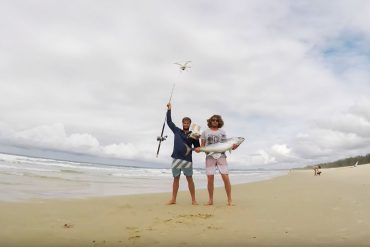 angeln mit drohne