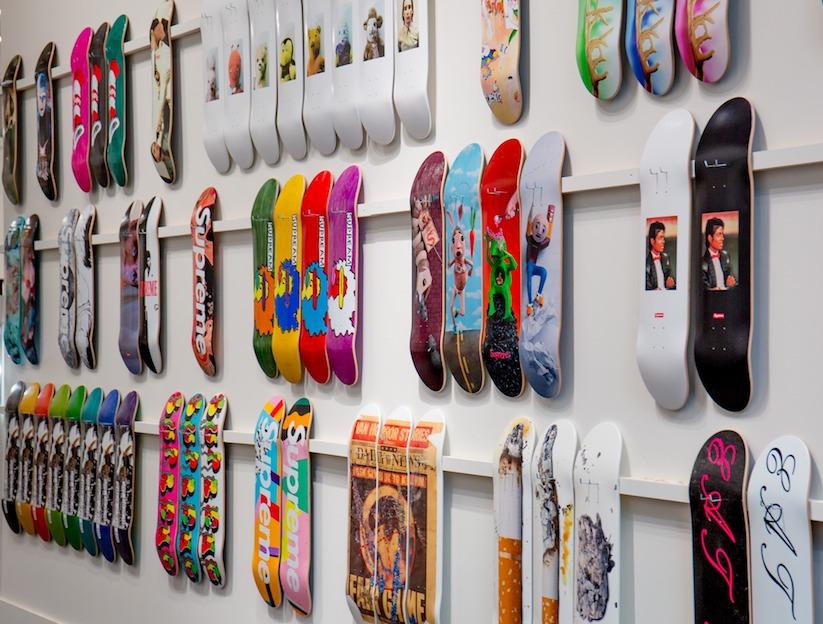 248 Supreme Skateboards Sothebys