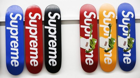 248 Supreme Skateboards Sothebys