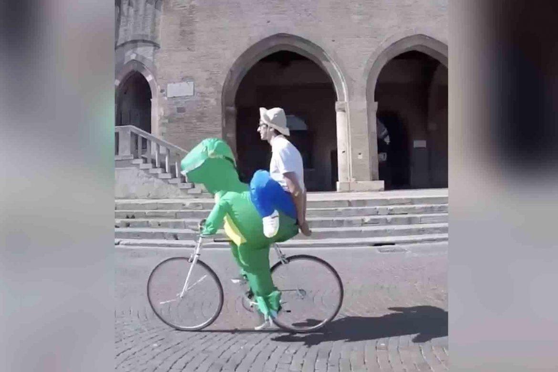 t-rex fahrrad