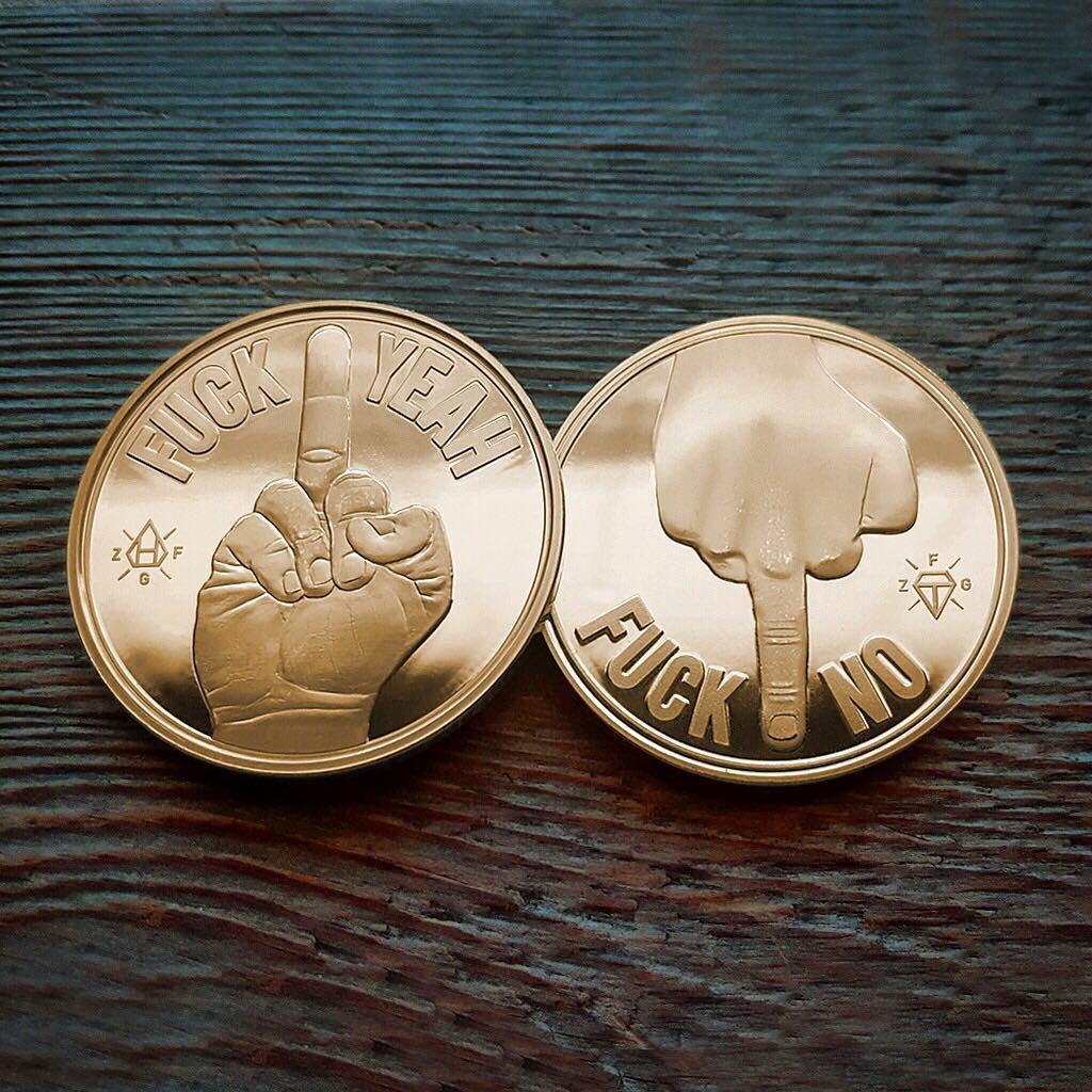 zero fucks coin