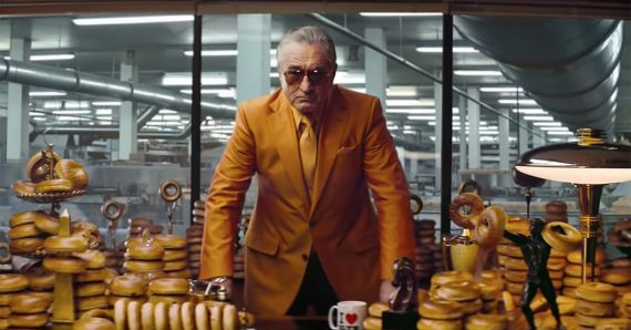 Robert DeNiro Bagel Werbung